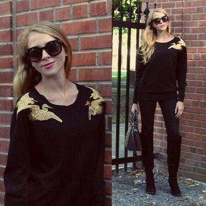 ALTUZARRA for TARGET Black Sweater XS